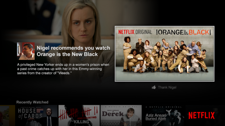 Social Launch Billboard 730x410 Netflix now lets you privately recommend movies and TV shows to your Facebook friends