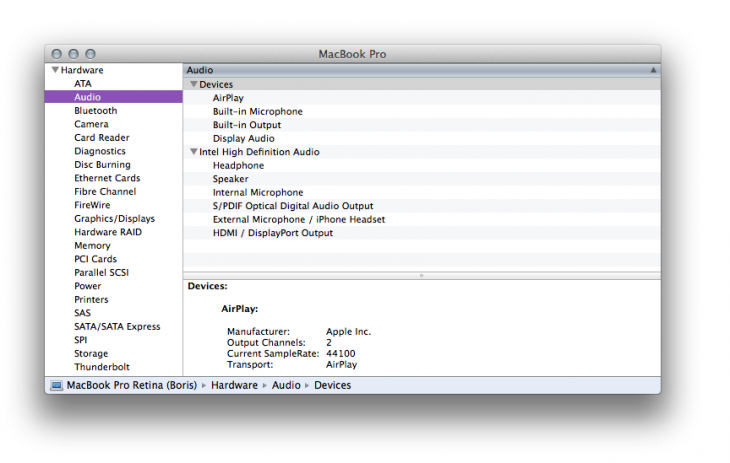 System Information 730x463 8 lesser known, but very useful, Apple Mac utilities