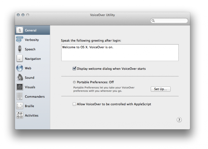VoiceOverUtility 730x523 8 lesser known, but very useful, Apple Mac utilities