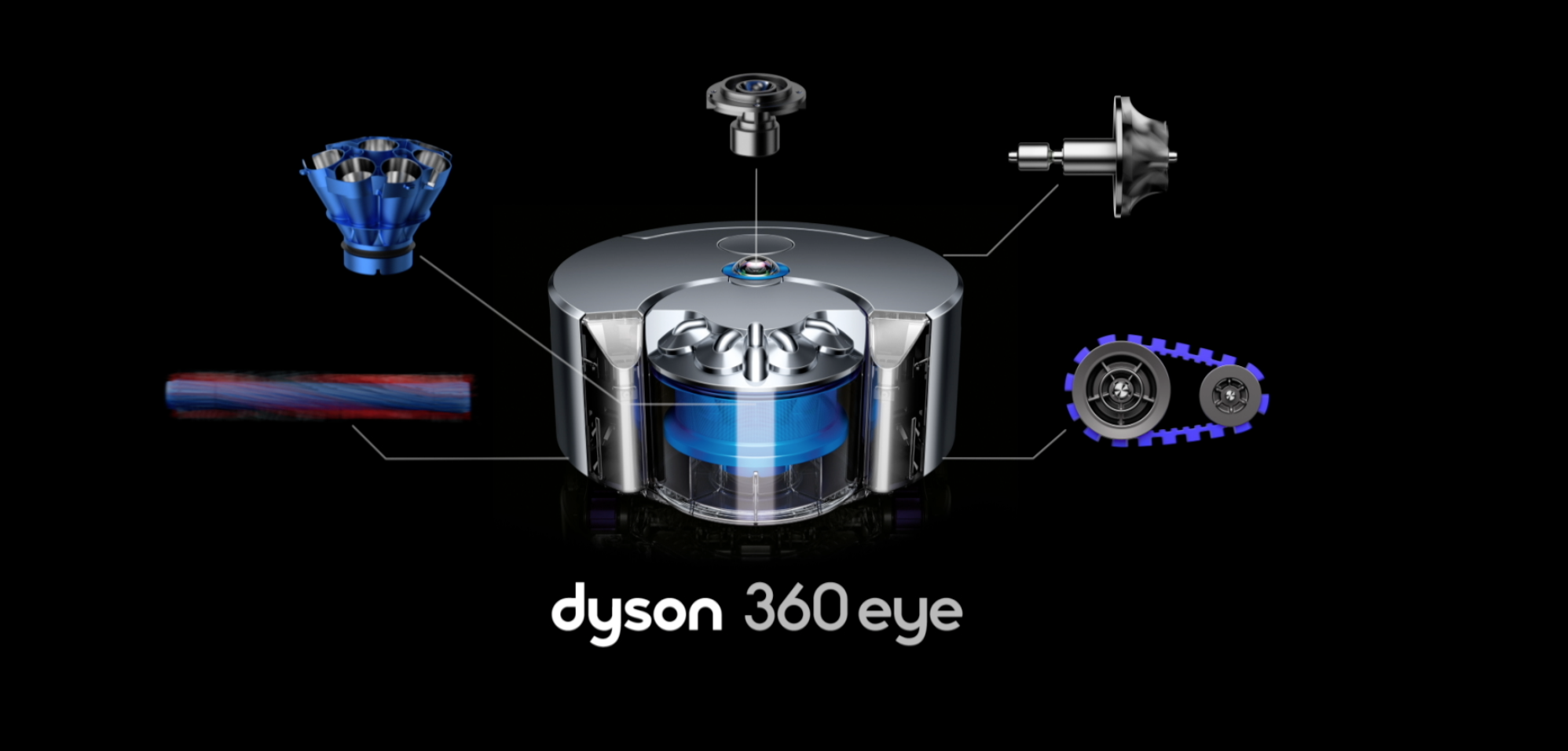 The 360 Eye Is Dyson S First Robotic Vacuum Cleaner