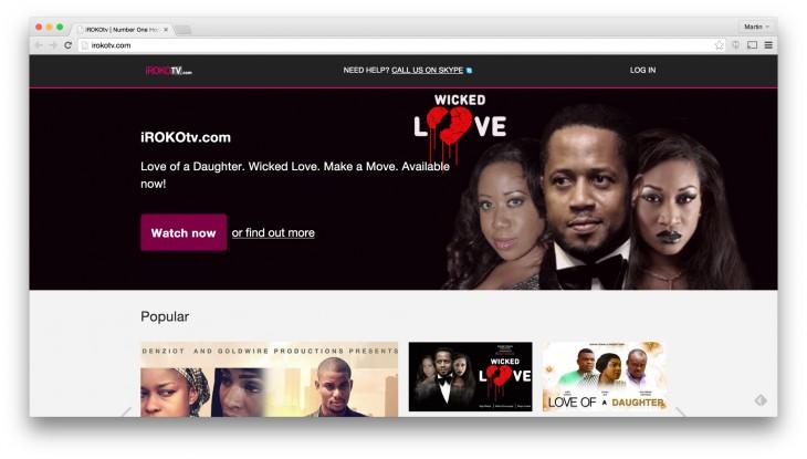 irokotv 730x415 Why startups, not media giants, lead online video in Africa