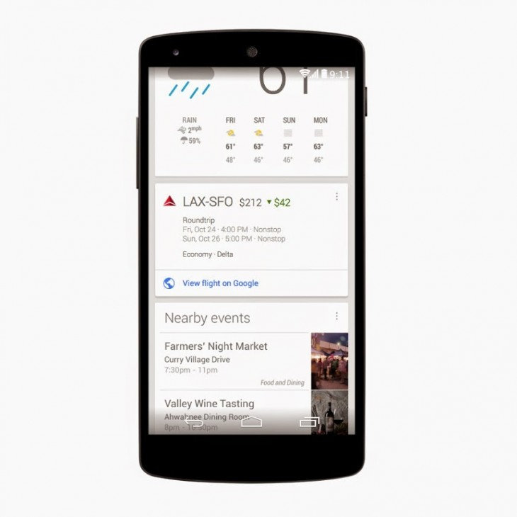 price drops gpluss 730x730 Google Now for Android updated to notify you when the price drops for a flight