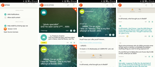 reddit ama android Reddits AMA interview app is now available on Android