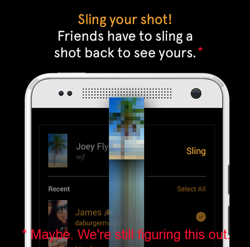 slingshot change Facebook changes the only unique Slingshot feature: You can now send unlocked photos and videos