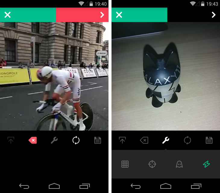 vine2 Vine for Android gets advanced editing tools and the option to import videos