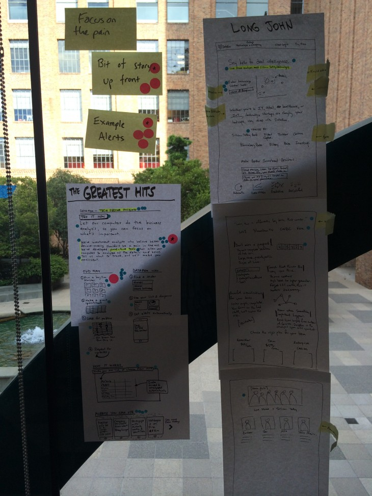 votes 730x973 Google Ventures 6 step design process: How we revamped our entire product in less than a week