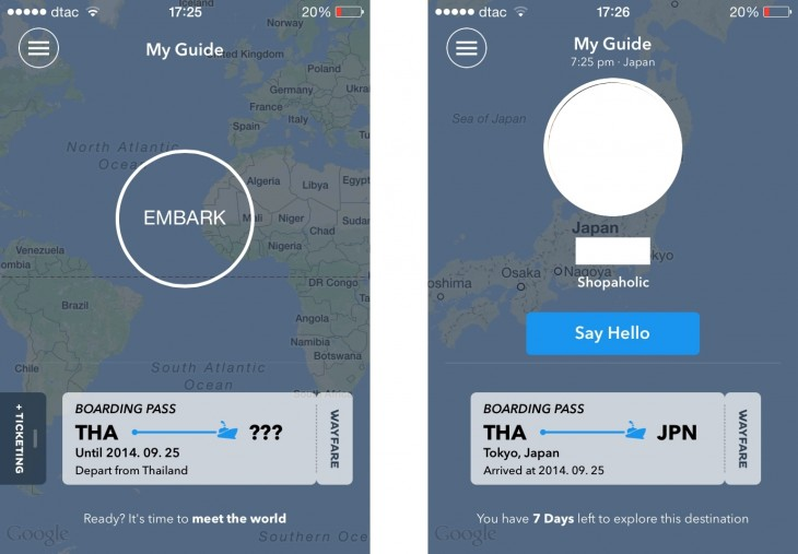 wayfare11 730x507 Wayfare brings penpals into the age of mobile and social media