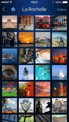 04 iOS7 Photo Grid Layout1 220x390 Sky+ iOS and Android apps now allow you to display photos directly on your TV