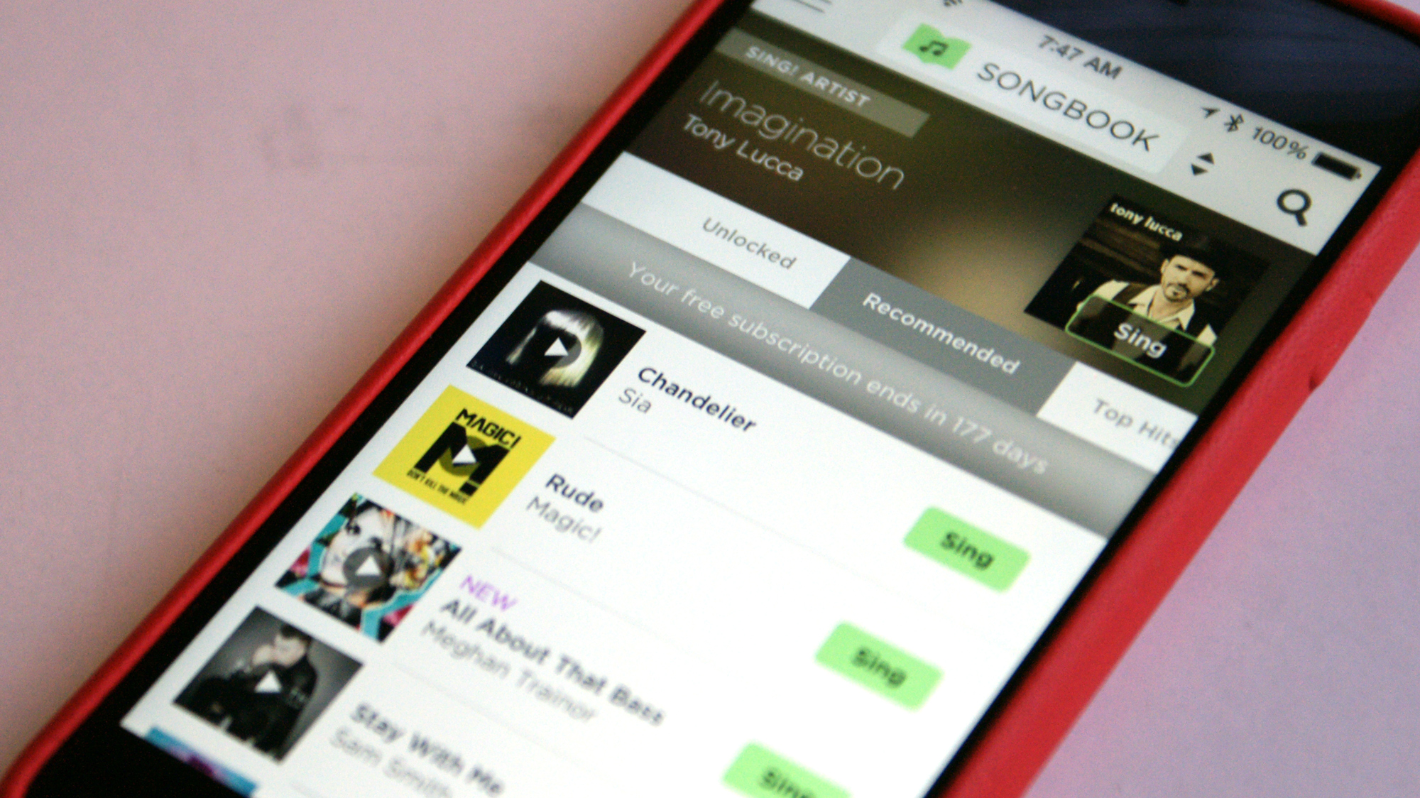 Create Music Videos with Smule's Karaoke App
