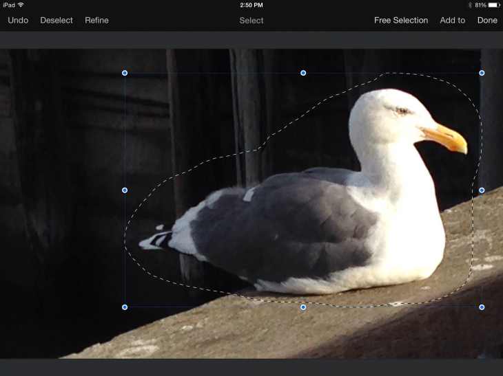 2014 10 23 14.50.42 730x547 Hands on: Pixelmator for iPad is a valuable tool for artists and photographers