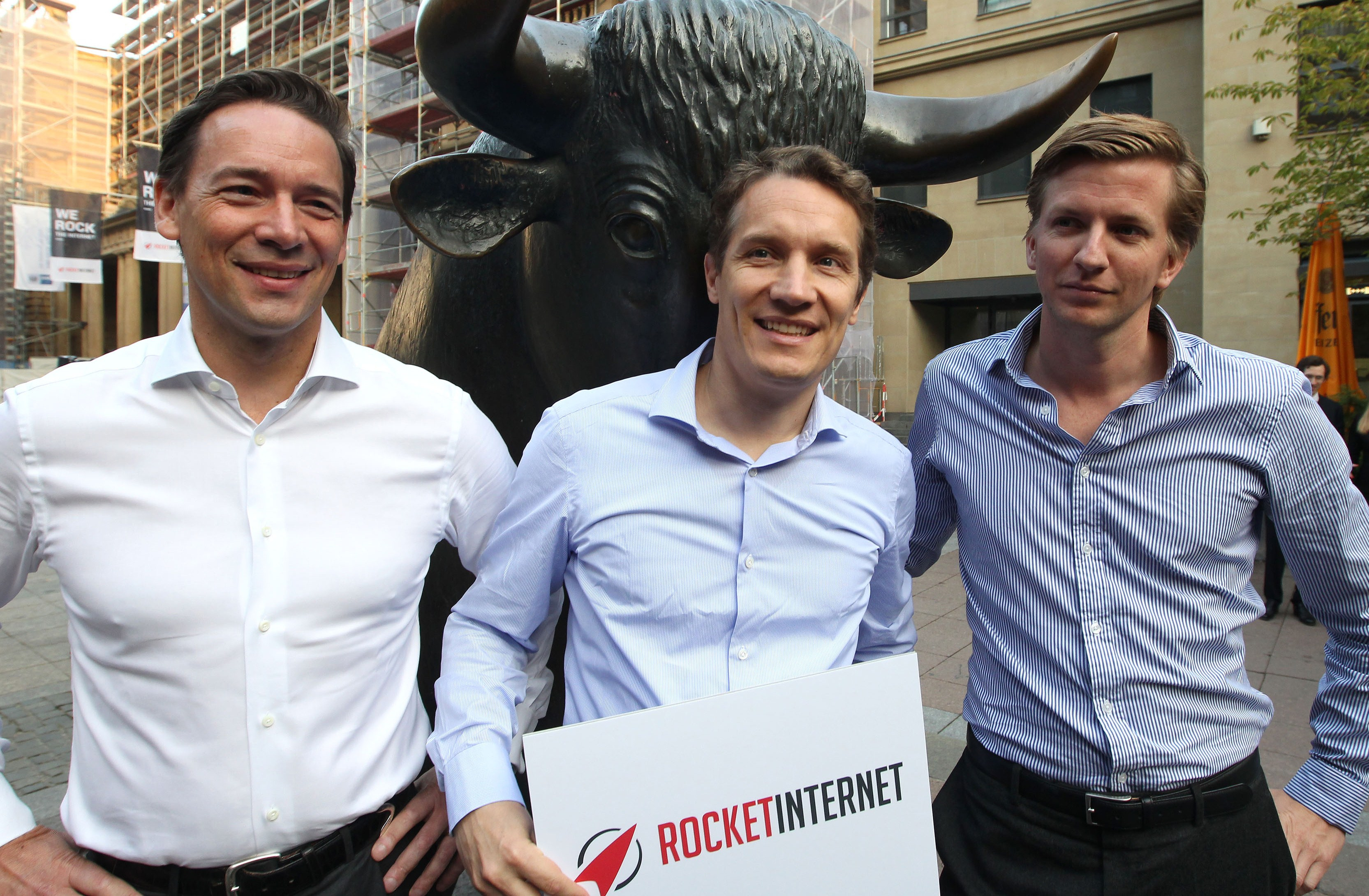 Rocket Internet Kicks Off IPO on Frankfurt Stock Exchange