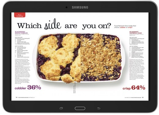 4 SamGal10 Front FoodNetwork 520x374 Barnes & Noble launches a 10.1 inch version of its Samsung Galaxy Tab 4 Nook tablet for $299.99
