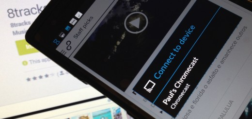 8tracks for Android gets Chromecast support to let you beam music to your TV