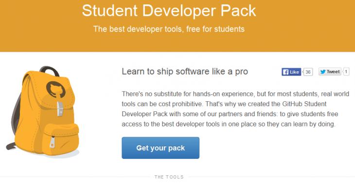 FireShot Screen Capture 311 GitHub Student Developer Pack GitHub Education education github com pack 730x382 GitHub announces free developer tools for students