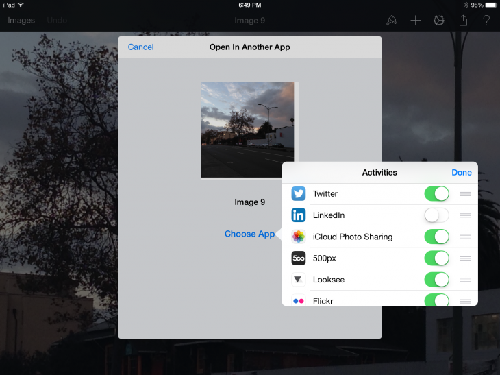 IMG 0486 730x547 Hands on: Pixelmator for iPad is a valuable tool for artists and photographers