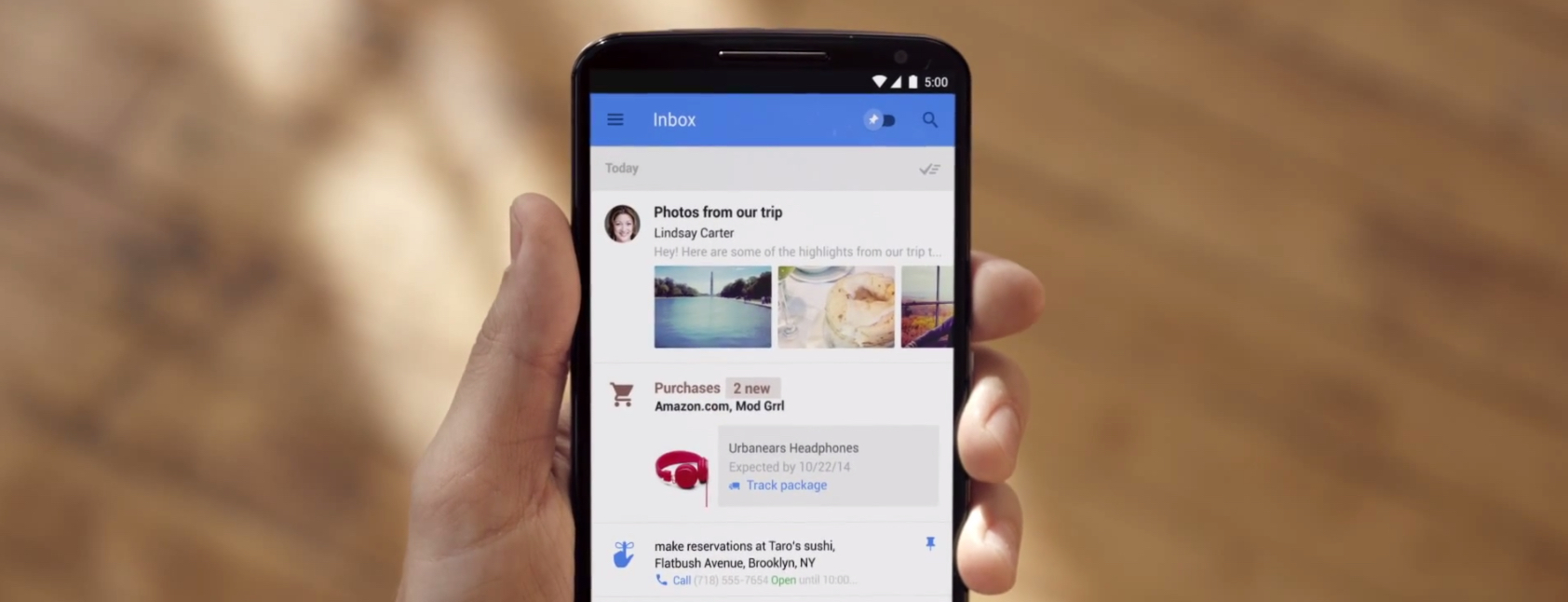 Google announces Inbox: A more intelligent way to handle email – The Next Web