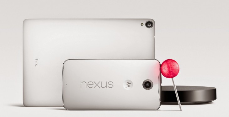 Nexus Family 730x375 Google launches Nexus 6 Android smartphone with 6 inch display, available to pre order October 29