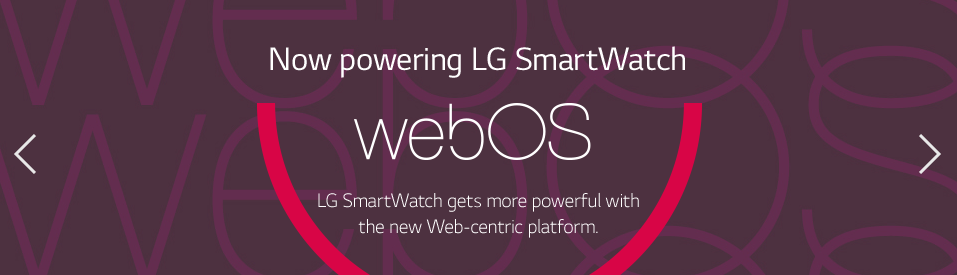 LG is Developing a WebOS Smartwatch