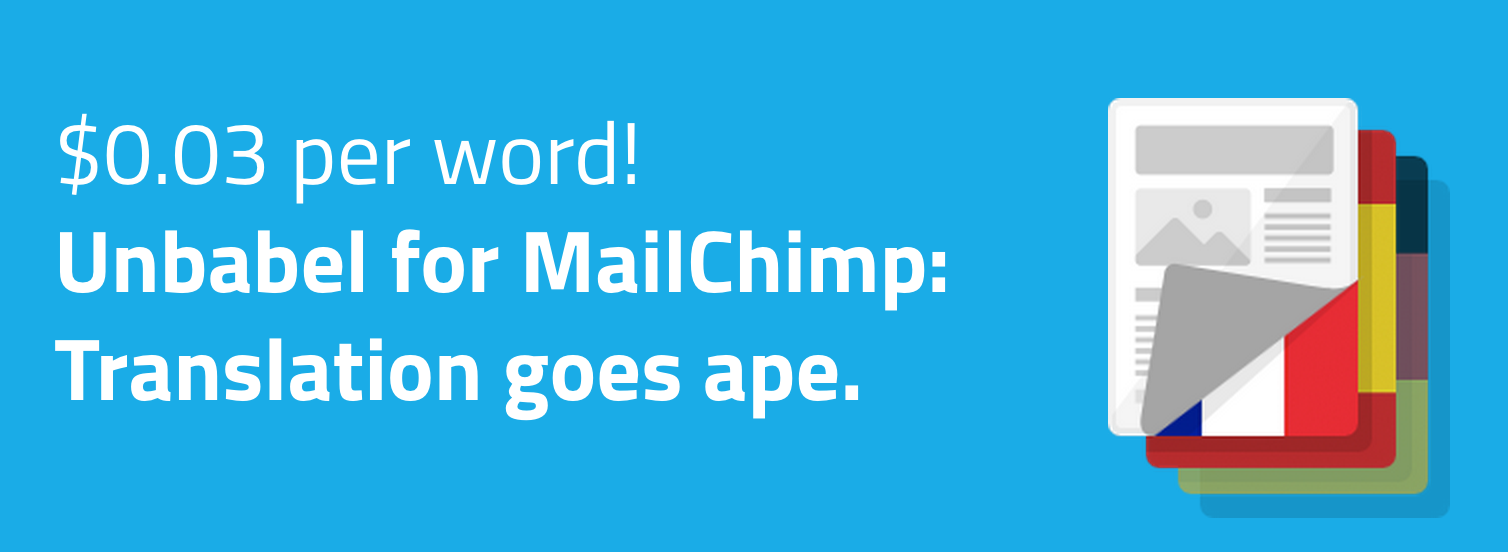 MailChimp Taps Unbabel to Offer Email Translations