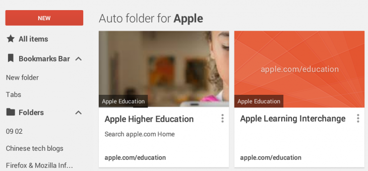 Screen Shot 2014 10 29 at 5.00.15 PM 730x339 Google releases its new 'Stars' Bookmark Manager for Chrome