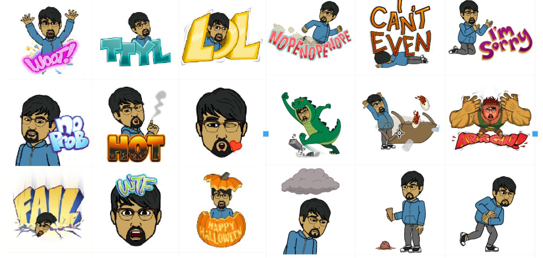 Bitstrips Releases an Emoji Sticker App