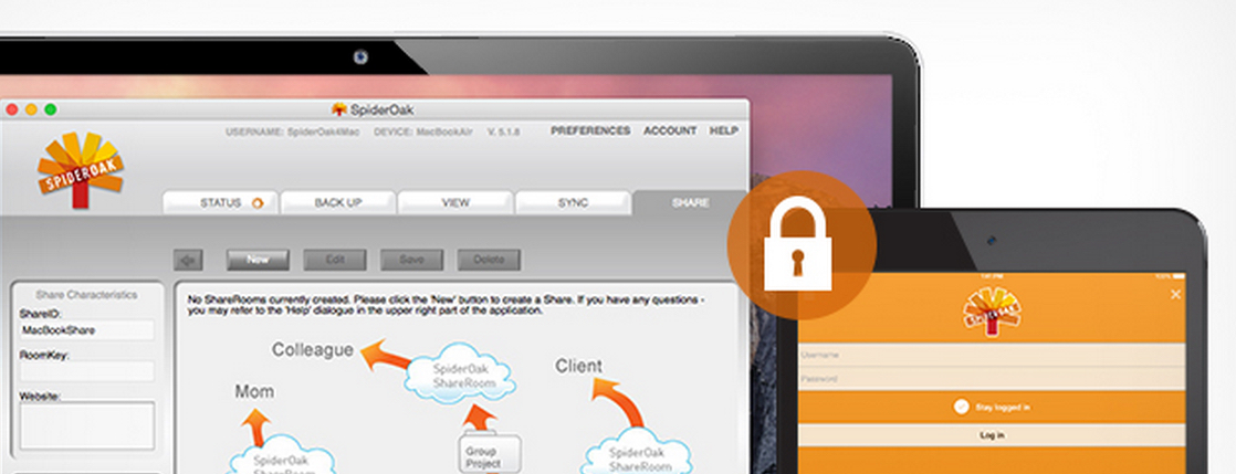 58% Off 1 year of SpiderOak Pro Secure Cloud Storage