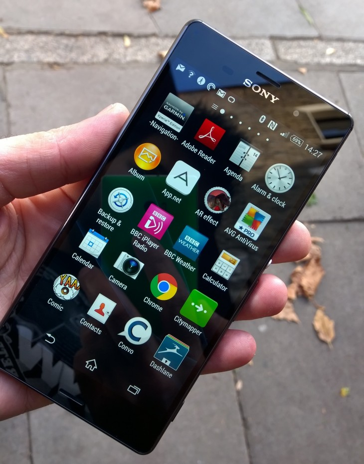 Xperia z3 front 730x930 Sony Xperia Z3 review: Iterative upgrades in just the right places