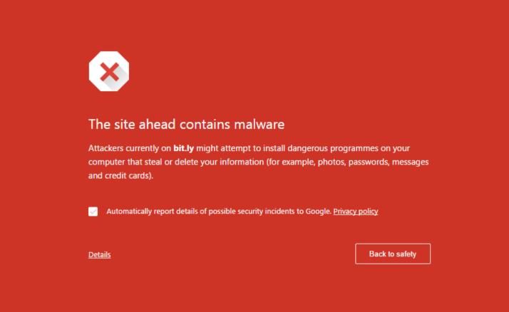Bit.ly malware