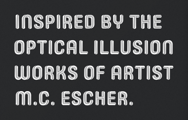 core escher 23 of the most beautiful typefaces from September 2014