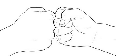 fist bump A guide to end awkward handshakes