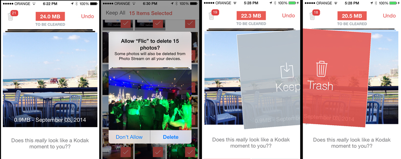 Flic Lets You Manage Your iPhone Photo Collection