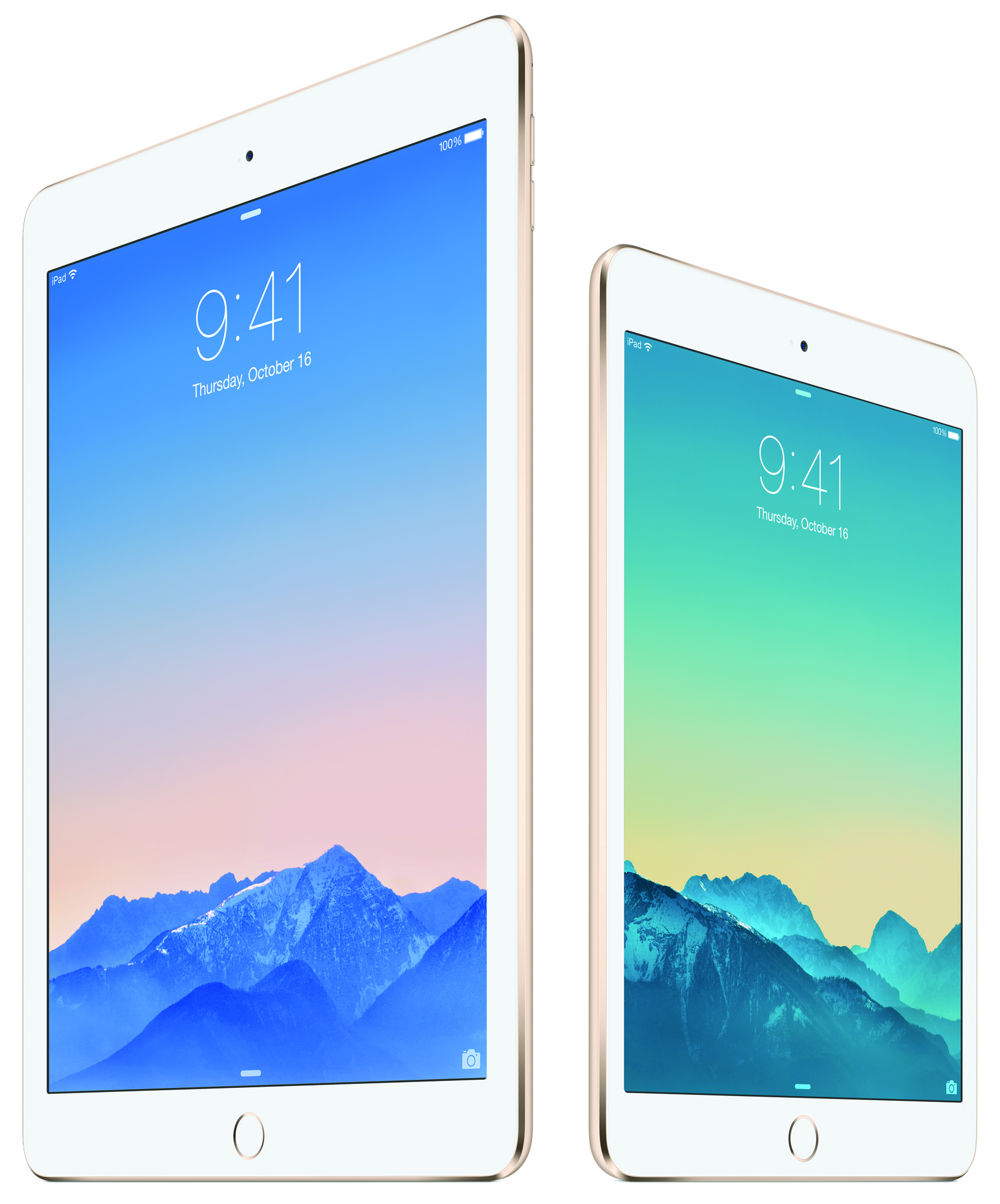 apple unveils the ipad air 2 with touch id. Black Bedroom Furniture Sets. Home Design Ideas
