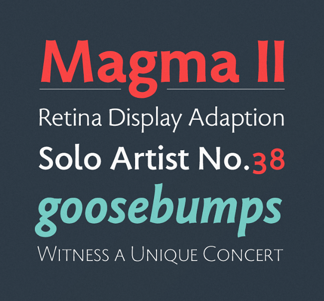 magma 23 of the most beautiful typefaces from September 2014