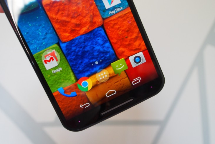 moto x screen 730x491 Moto X (2014) review: The best Android phone you can get outside of Google HQ