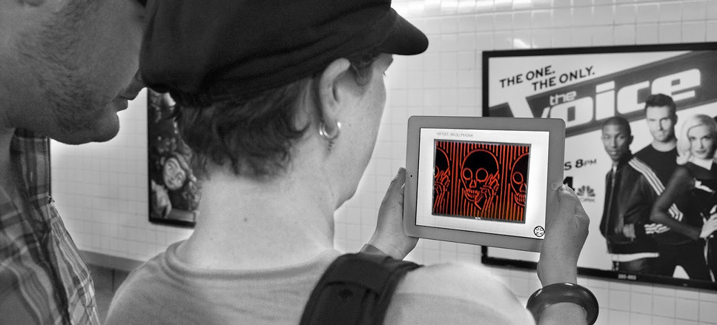 NO AD Augmented Reality App Preps NYC Subway Photo Show
