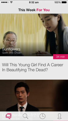 1 Curation  220x391 Viddsee launches for iPhone to showcase short films from Southeast Asia
