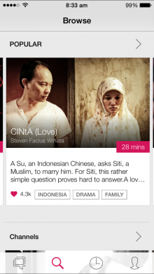 4 Browse 220x391 Viddsee launches for iPhone to showcase short films from Southeast Asia