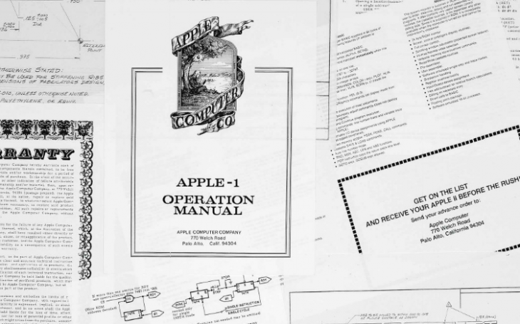 Apple co-founder's personal archive, including Apple II blueprints, will be auctioned next month