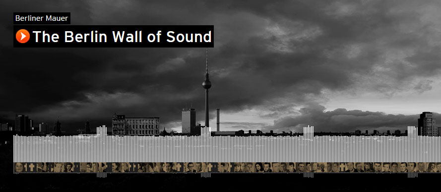 SoundCloud's 'Wall of Sound' commemorates the fall of the Berlin Wall 25 years ago - The Next Web