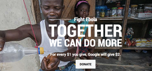 Google launches campaign to fight Ebola and donates $10 million
