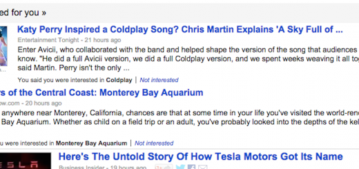 Google News Suggested