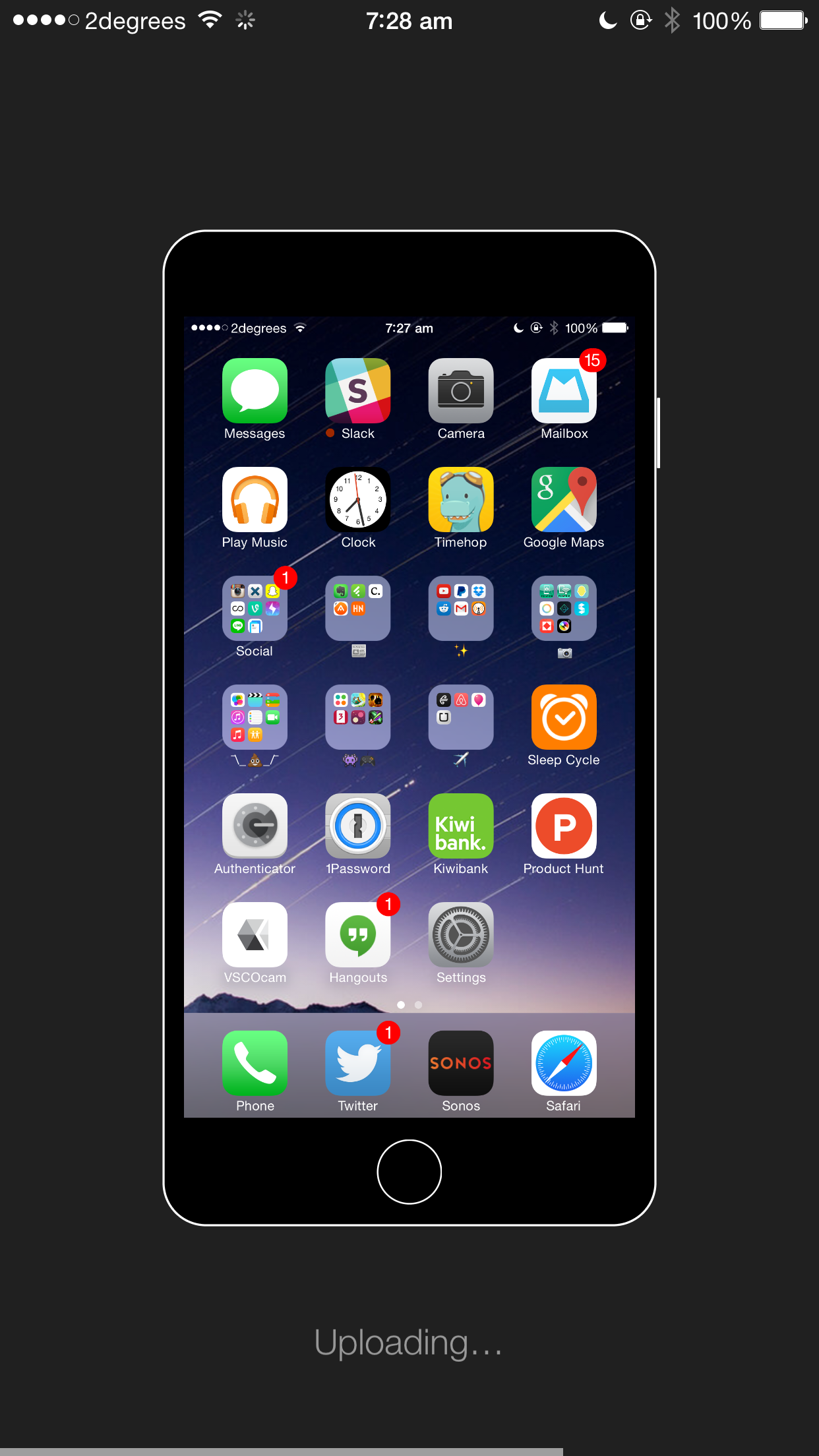 Show Off Your Icons With Homescreen For Ios