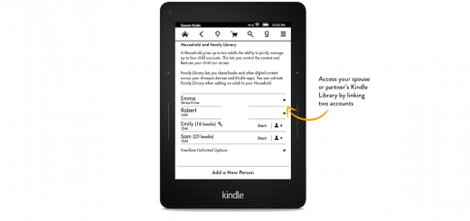 Kindle Family Library