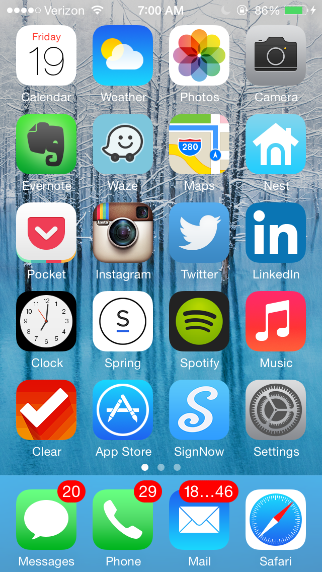What s on your home screen checking in with warby parker s neil
