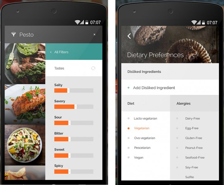 Yummly 2 730x601 10 of the best Android apps from November 2014