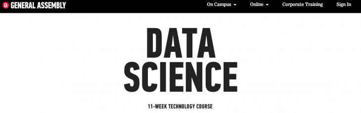 data science ga 730x229 How data scientists are changing the face of business intelligence