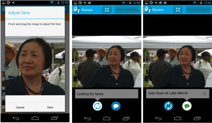 fototiger 730x426 FotoTiger facial recognition app for Android puts the Who in your photos