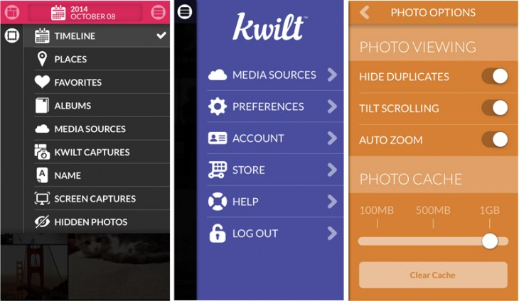 kwilt1 730x424 Kwilt creates a giant photo stream to discover and display all your stored images