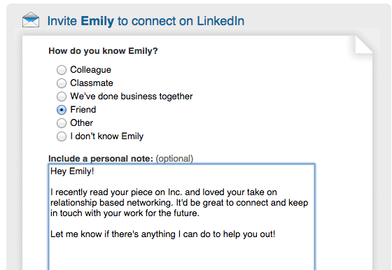 linkedin request How to get your first 1,000 followers on every social network