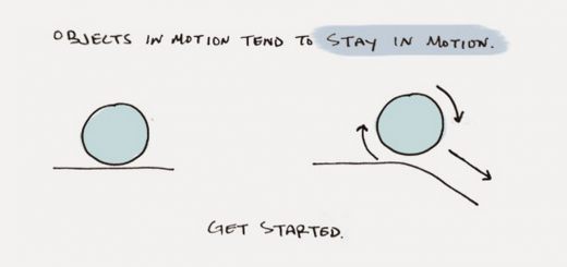 The physics of productivity: Newton's laws for getting stuff done